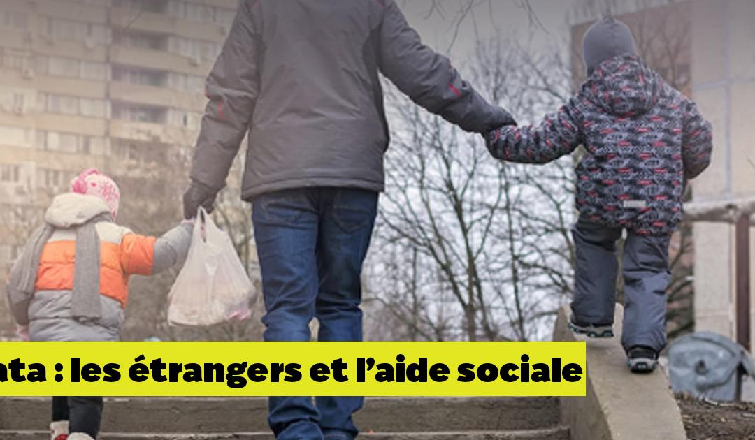 Les étrangers et l'aide sociale